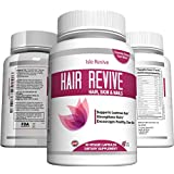 Hair Revive Vitamins, Dietary Supplement for Skin, Hair, and Nail Health, For Women and Men, (60 Capsules, 30 Day Supply)