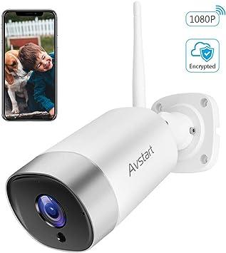 Amazon.com: Cámara inalámbrica de seguridad para el hogar ...