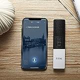 SSK Smart Language Translator Device, Electronic Pocket Voice/Text Bluetooth Translator Two-Way Real Time Support 86 Languages Translation, Handheld Interpreter for Learning Travelling Business
