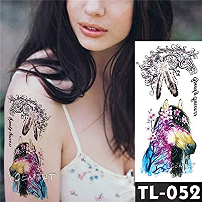 tatuajes pegatinas rosas oscuras flores brazo hombro tatuaje ...