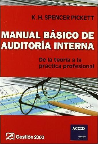 Manual básico de auditoría interna: De la teoría a la práctica ...
