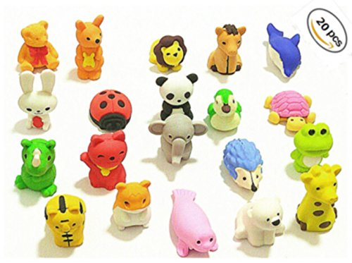 BAIVYLE 20 Animal Collectible Set of Adorable Japanese Style