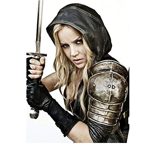 Sucker Punch Abbie Cornish as Sweet Pea with sword raised 8 x 10 Inch Photo