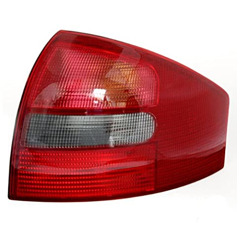 Right Tail Light Lamp Red Genuine Smoked For Audi A6 C5 98 1999 2000 01 02 2003 2004 - Audi A6 Light