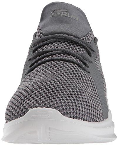 Mens Skechers Go Run Mojo-pep Sneaker Carbone Di Legna