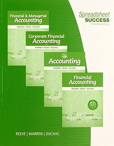 Spreadsheet Success in Accounting (with  - Step Spreadsheet Activities Shopping Results