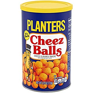 Planters Cheez Balls, 2.75 oz Canister (Pack of 6)