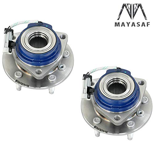- MAYASAF 513121x2 Axle Bearing Front Wheel Hub and Bearing Assembly 5 Lug w/ABS for Chevy Impala Allure, Aurora, Bonnevile, Century