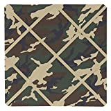 Sweet Jojo Designs Green Camo Fabric Memory/Memo Photo Bulletin Board