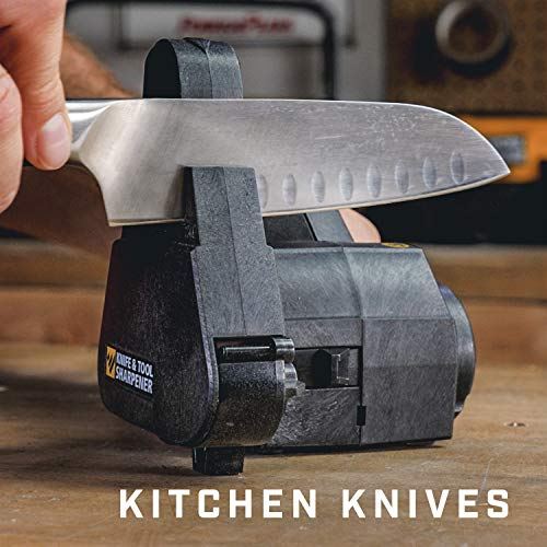 Work Sharp Knife & Tool Sharpener - One of the best kitchen knife sharpeners