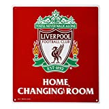 Liverpool FC Official Home Changing Room Sign (One Size) (Red/White)