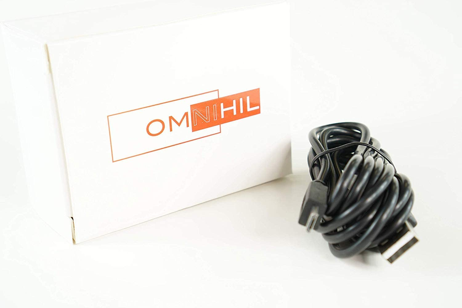 OMNIHIL Wall+Car Chargers+2PK-30FT Micro-USB Cable Compatible with AOMAIS Sport II Wireless Speaker