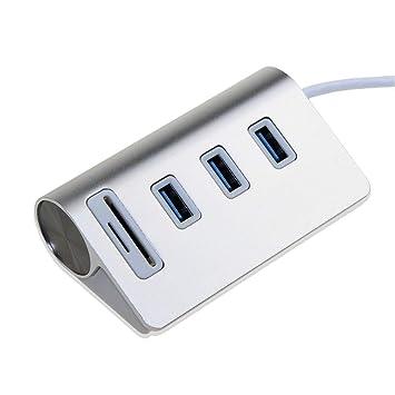 368° inspiration Concentrador de Aluminio de 3 Puertos USB ...