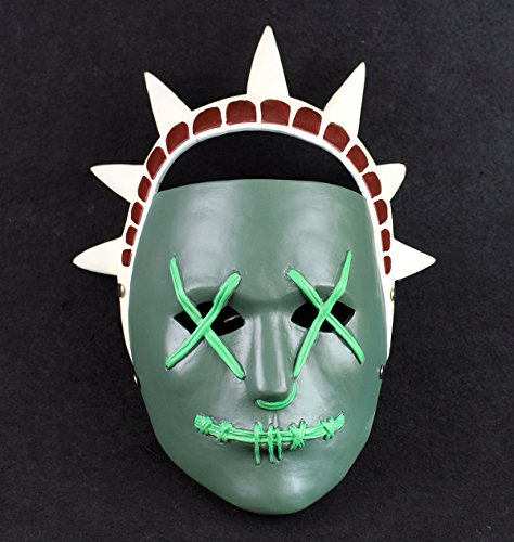 Gmasking Election Horror Year Statue of Liberty Cosplay 1:1 Mask Halloween Party Props -