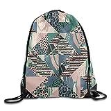 Fauves Of Africa Unisex Home Gym Sack Bag Travel Drawstring Backpack Bag