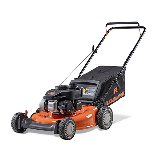 Remington RM130 Trail Blazer 140cc 21-Inch 3-in-1 Gas Push Lawn (Mtd Steel Lawn Mower)