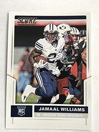 7dfeb9d11 Amazon.com  2017 Score Football  394 Jamaal Williams NM M (Near Mint ...