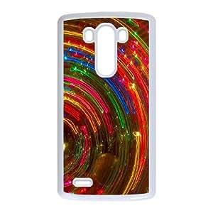 LG G3 Cell Phone Case White Colorful Fantasy Trippy Generic Phone Case XPDSUNTR35282