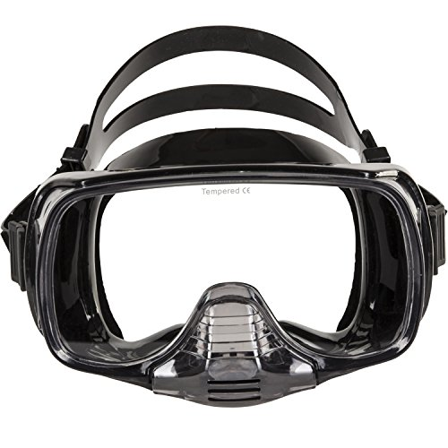 IST Imperial Panoramic View Hands-Free Water Mask (Black - Imperial Single Imperial