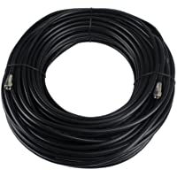 Perfect Vision 036015 100-Feet RG-6 Coaxial Cable with Ends, Black