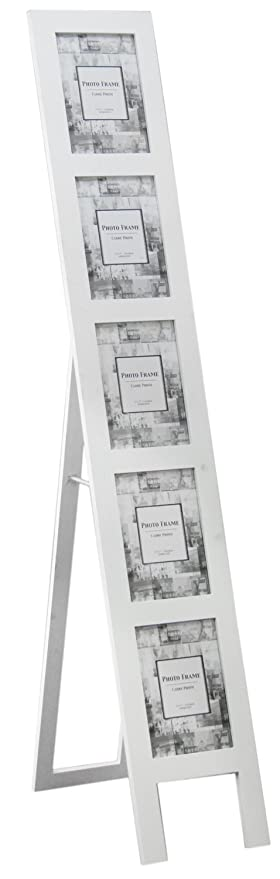 Large Floor Standing Photo Frame White Amazoncouk Kitchen Home