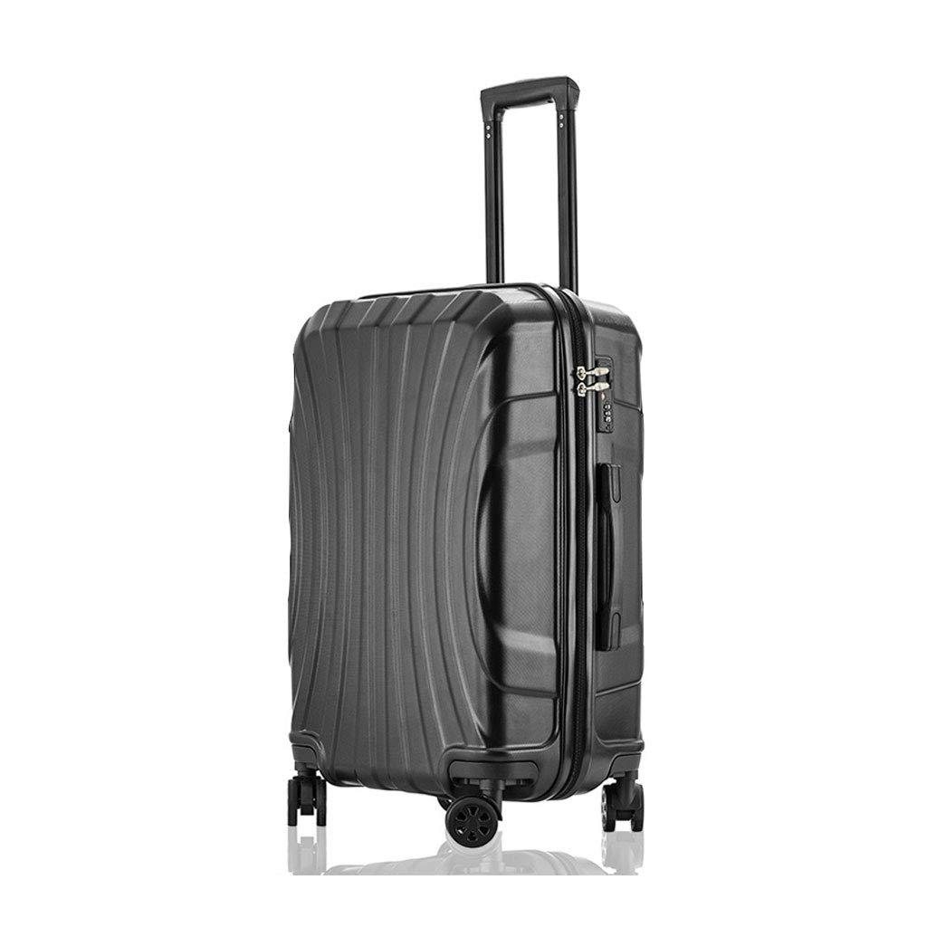 ハンド荷物超軽量ABSハードシェル旅行は4つのホイール、航空&詳細情報のために承認されたハードシェルトロリーサイズのアドオンキャビンハンド荷物スーツケースキャリー 44cm*29cm*67cm  B07P7KYZ1N