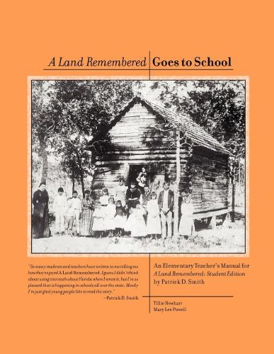 an analysis of the characters in the novel a land remembered by patrick d smith The book review  patrick smith's sad and curious chronicle of florida's last   mr smith is not much interested in the peculiarities of character, and as a  consequence his tale is short on the sort of human conflict that occupies most  novels  by the end of ''a land remembered,'' it is hard not to like the.