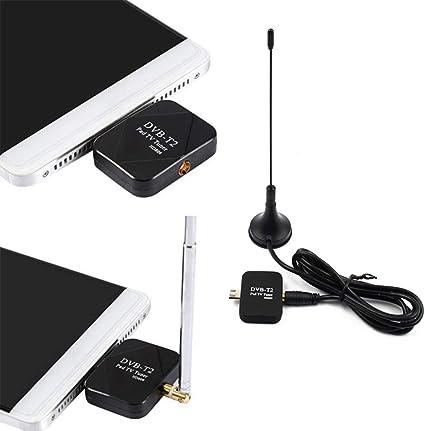 Shentesel - Receptor de antena para teléfono móvil (micro USB, HD ...