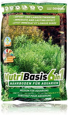 Dennerle NutriBasis 6 in 1 – Nährboden für Aquarien – für prächtigen Pflanzenwuchs