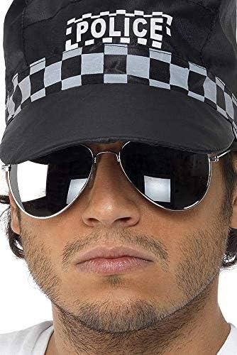Pilotenbrille Silber verspiegelt Silberner Rahmen - Police Brillen