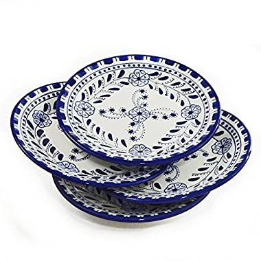 Le Souk Ceramique Side Plates, Set of 4, Azoura Design