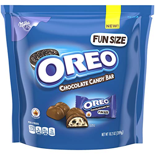 OREO Chocolate Treat Size Candy Bars, 10.25 oz (Pack of 5) ()