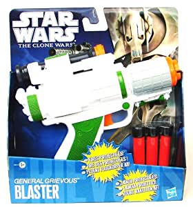 Star Wars The Clone Wars General Grievous Basic Blaster (accesorio de disfraz)