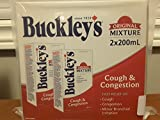Buckley's Cough & Congestion Syrup Original Mixture 2x200ml
