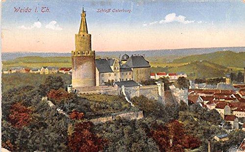 Schlob Osterburg Weida I Th Germany Postcard