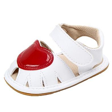 01a98962bc6a7 OHmais Enfants Chaussure Bebe Garcon Premier Pas Chaussure Premier Pas bébé  Fille Sandale Souple