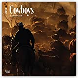 Cowboys 2018 12 x 12 Inch Monthly Square Wall Calendar, USA United States of America Rural Country