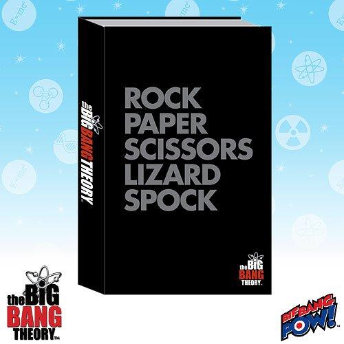 The Big Bang Theory Rock Paper Scissors Lizard Spock Journal
