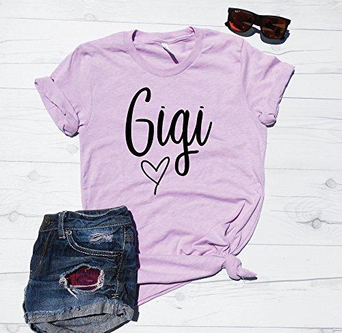 Gigi T-Shirt, Grandma Shirt, Grandmother Gift Idea, Gigi Top, Grand kids Present, Grandma tee, Cute Gigi Top