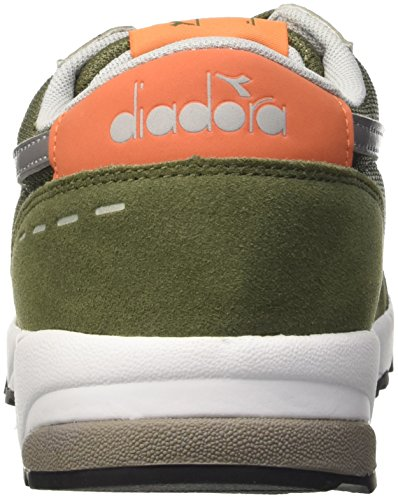 Diadora Run 90, Sandalias con Plataforma para Hombre VERDE OLIVINA