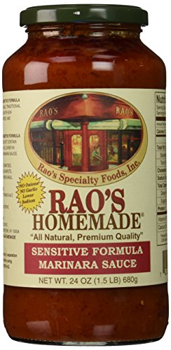 Rao's Sauce Homemade Marinara Sensitive, 24 oz (Homemade Marinara Sauce With Fresh Tomatoes And Basil)