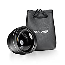 Neewer® 58MM 2.2X Telephoto Lens with Microfiber Cleaning Cloth for CANON REBEL (T6s T6i T5i T4i T3i T3 T2i T1i XT XTi XSi SL1), EOS (700D 650D 600D 1100D 550D 500D 100D) Cameras and More