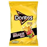 Doritos Lightly Salted Corn Crisps 225G (Pack Of 12)