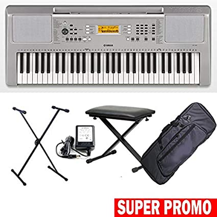 Yamaha ypt 360 teclado electrónica 61tasti dinámicos ...