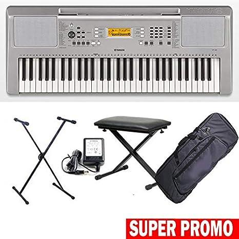 Yamaha ypt 360 teclado electrónica 61tasti dinámicos completa ...