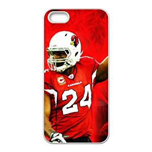 Arizona Cardinals iPhone 5 5s Cell Phone Case White persent zhm004_8502711