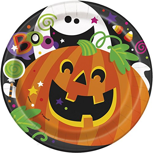 Happy Halloween Dessert Plates, 8ct