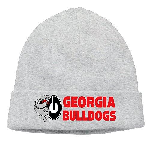 Caromn Georgia Bulldogs Beanies Skull Ski Cap Hat Ash (Tom Jones Fancy Dress Costume)