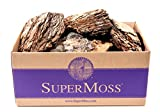 SuperMoss (23255) Decorative Bark, Natural, 5lbs (4950 cu. In.)