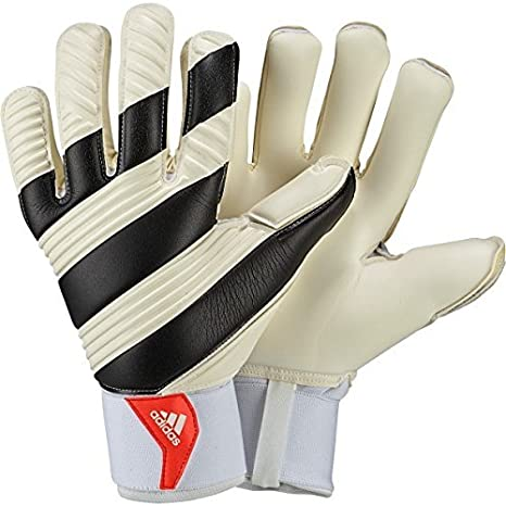 1df41ba86e adidas Classic PRO - Guanti di Portiere, Bianco (White/Black/Solar Red